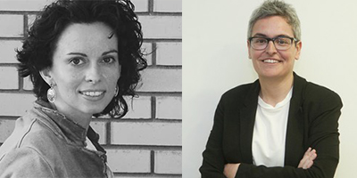 Alicia Trepat y Eva Miguélez