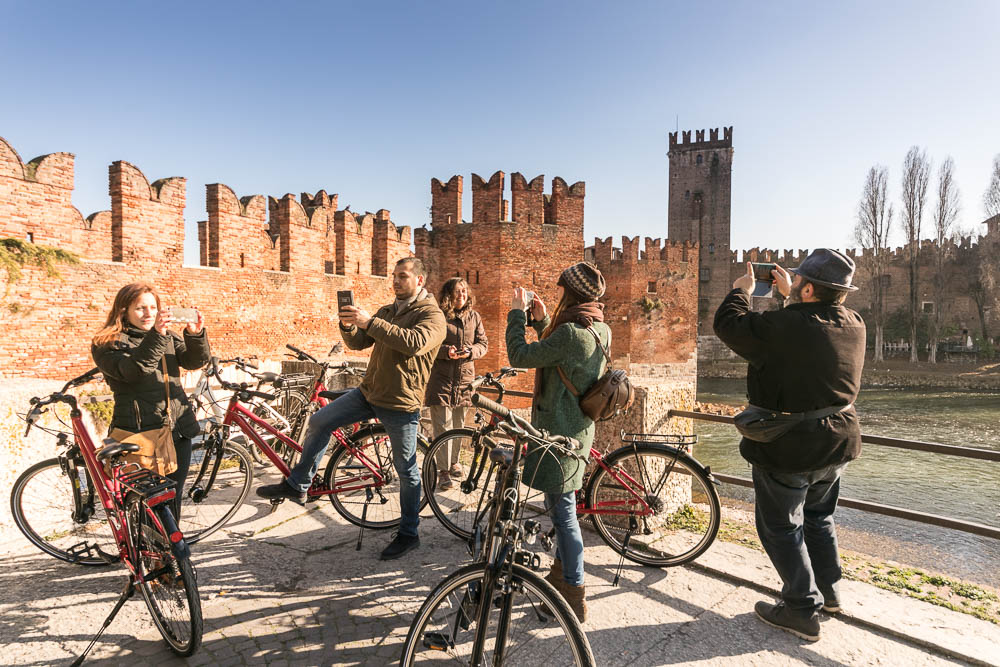 Photo Tour Bike in Verona