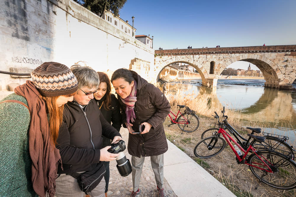 Photo Tour in Verona by Bike