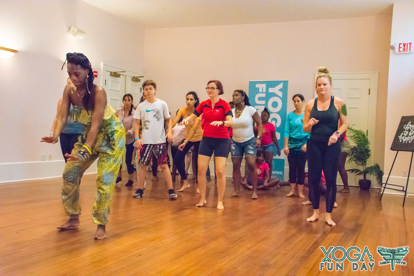 West African Dance Classes at Yoga Fun Day Delray