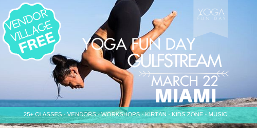 Yoga Fun Day Miami Yoga Festival