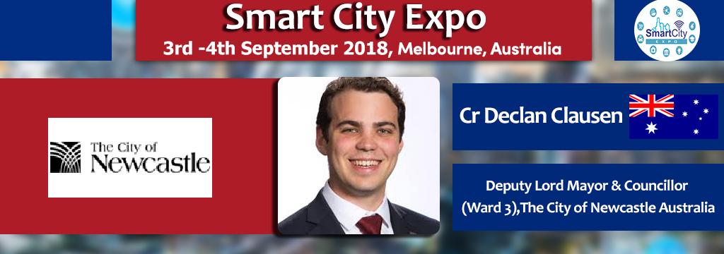 Discover Smart Australia Cities at Smart City Expo 3-4th Sep. 2018, Melbourne, Australia.