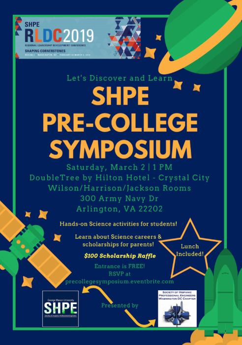 Pre-College Symposium Flyer