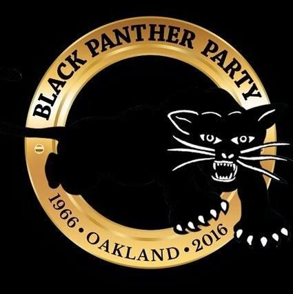 Black Panther Party 50th Anniversary Logo