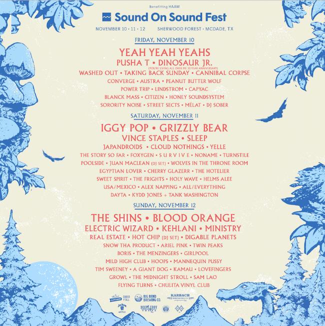 SOS 2017 Daily Lineup