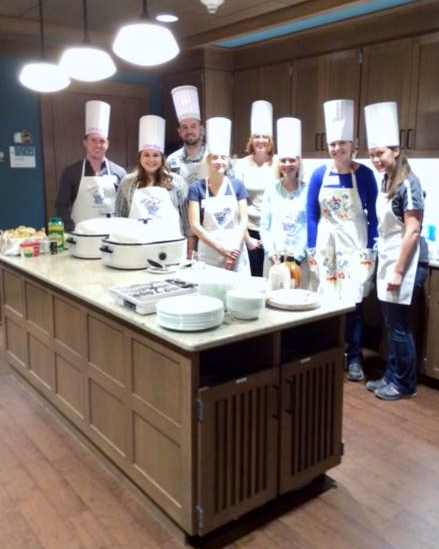 Cooks for Kids - Preparing Meals at Ronald McDonald House