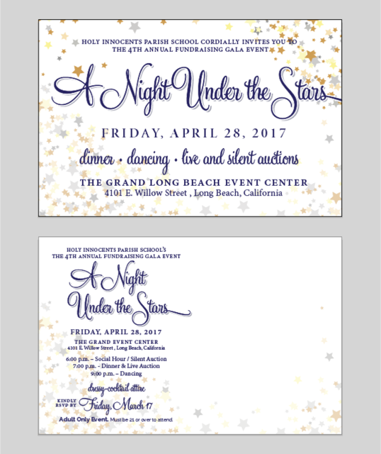 Invitation to NIGHT UNDER THE STARS