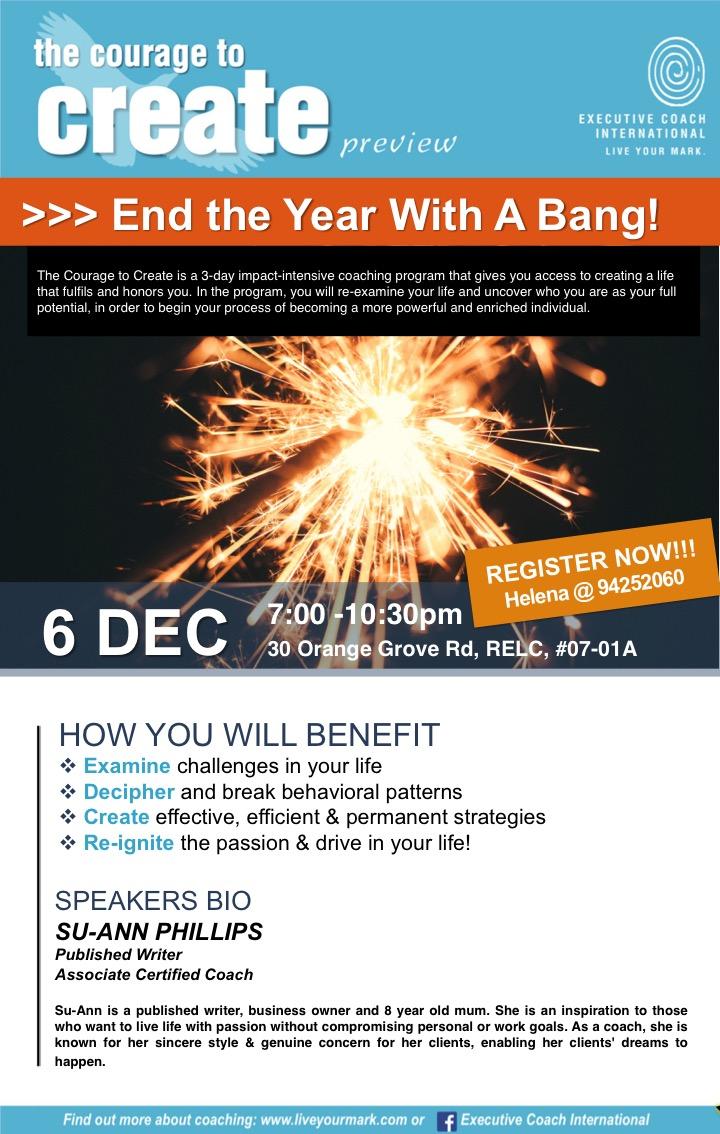 6 Dec Preview Poster