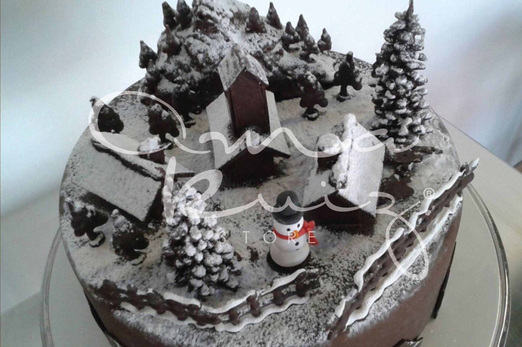 pueblo navideño