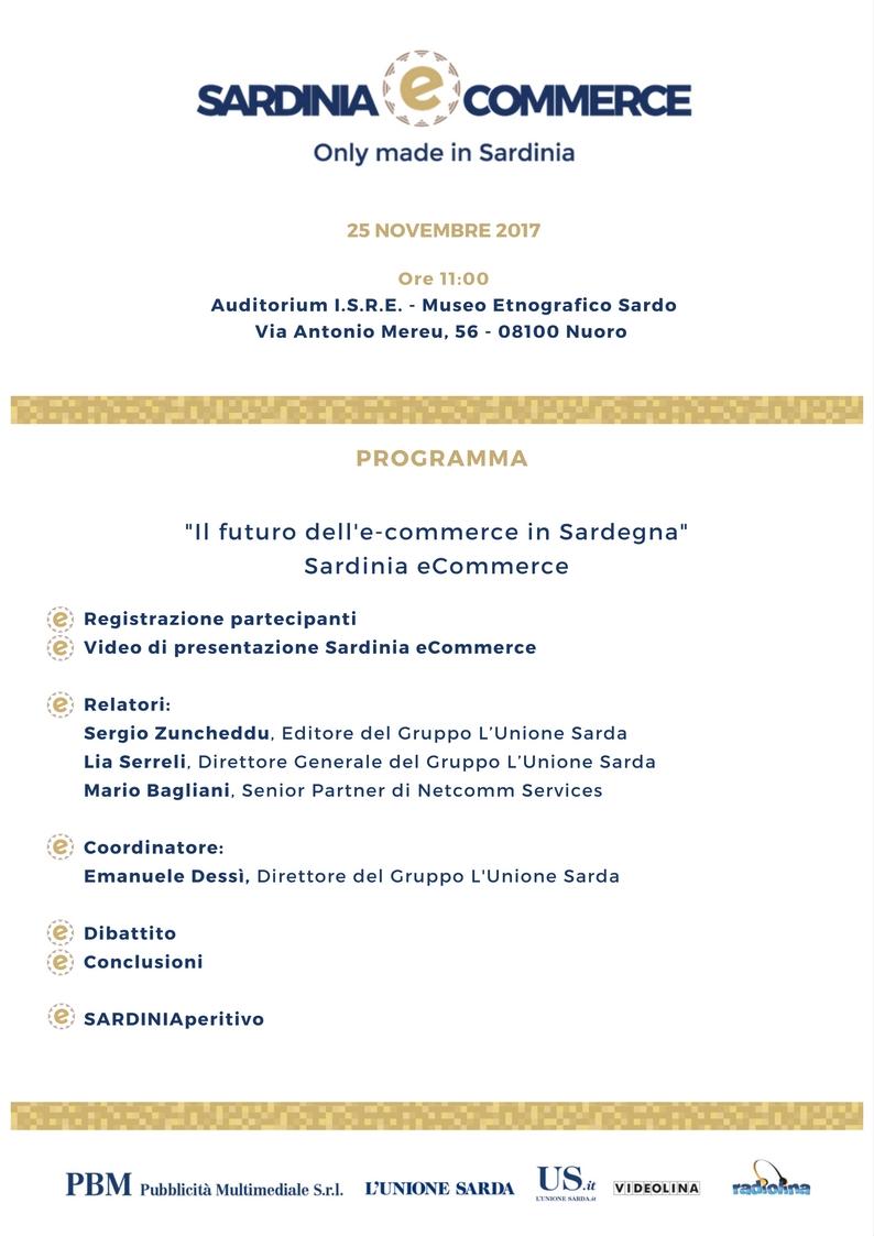 Programma Sardinia eCommerce Nuoro