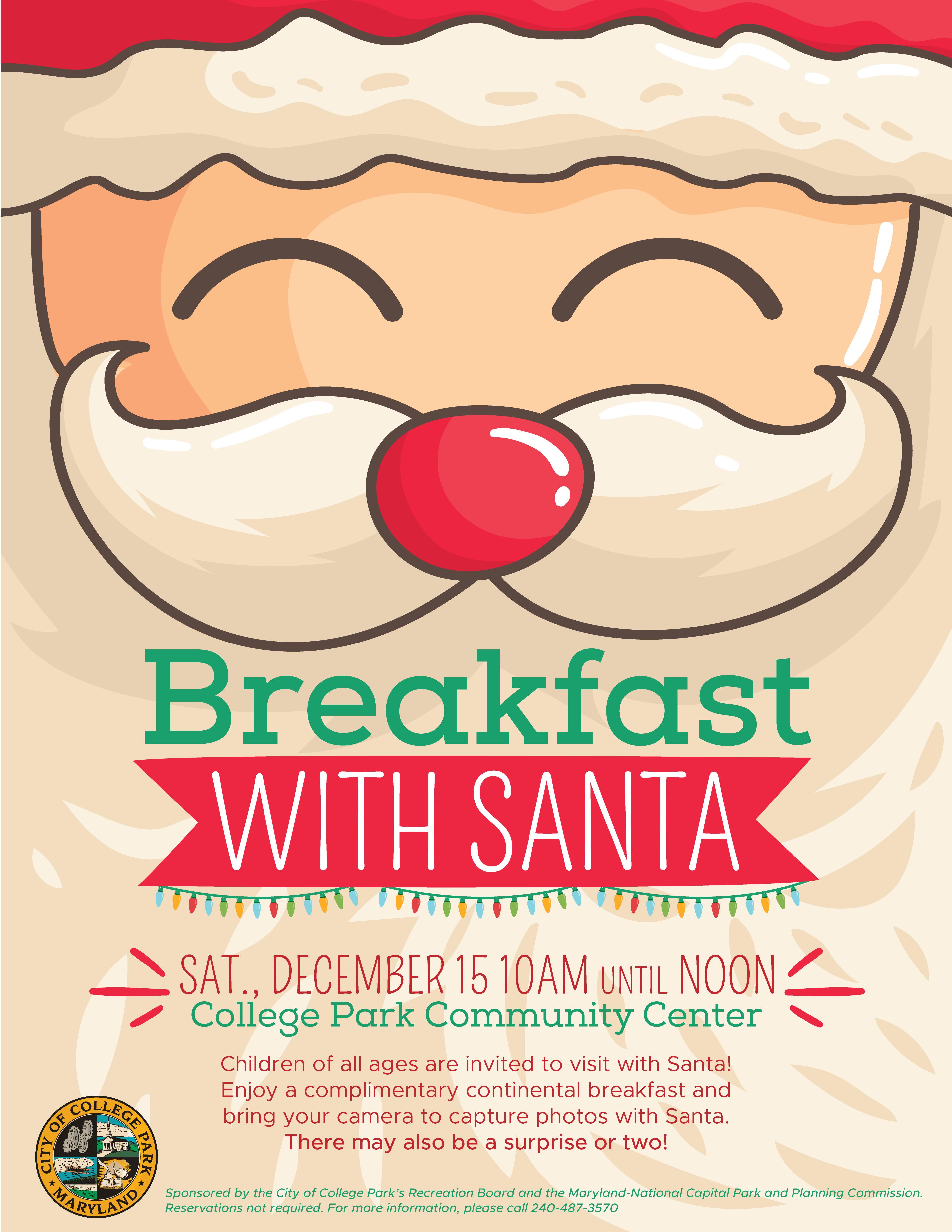 Breakfast with Santa 2018