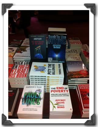 Bank To The Future Simon Dixon Waterstones book store