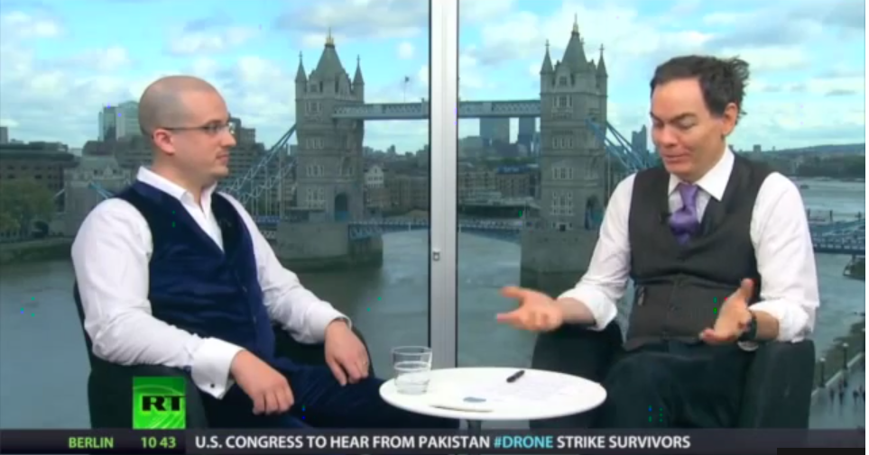 Simon Dixon on Keiser Report with Max Keiser Discussing CrowdFunding