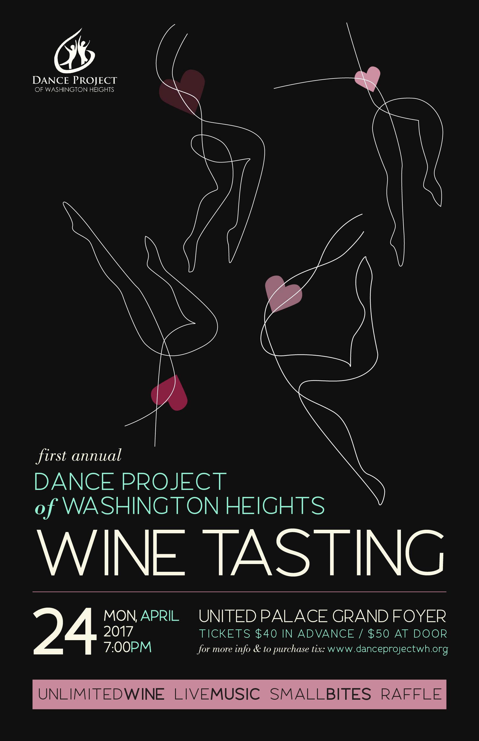 Wine Tasting Flier