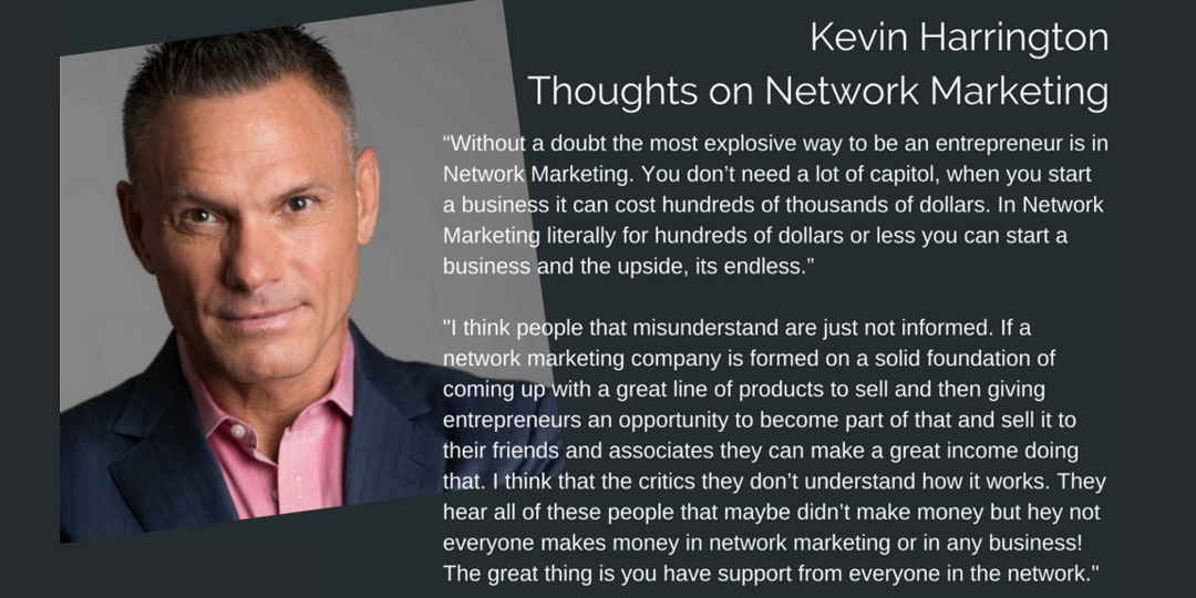 Kevin Harrington Network marketing