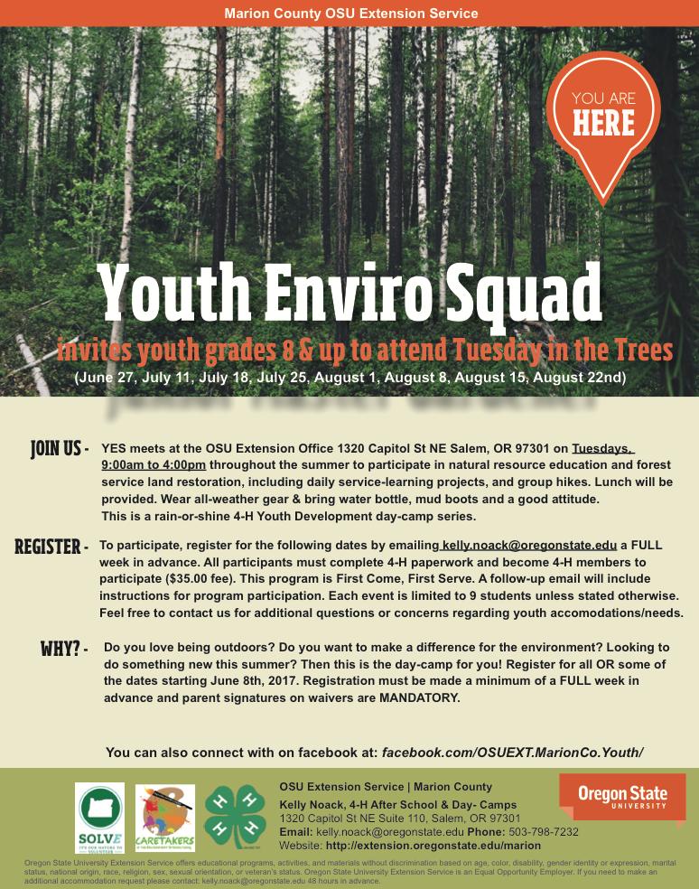 Youth Enviro Squad