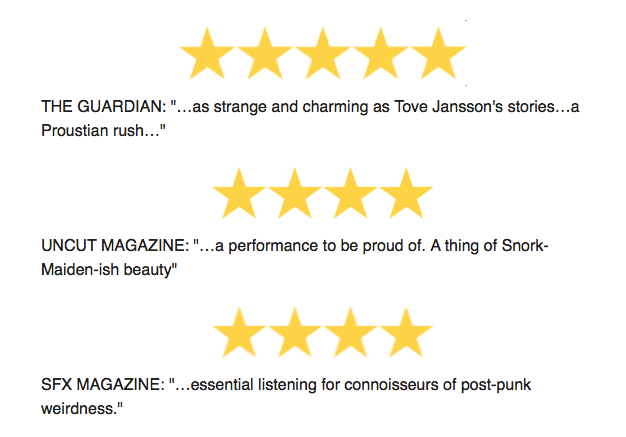 5* Reviews of Moomin Live Rescore