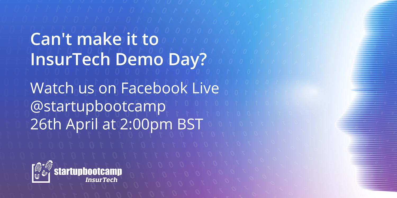 Startupbootcamp InsurTech Facebook Livestream