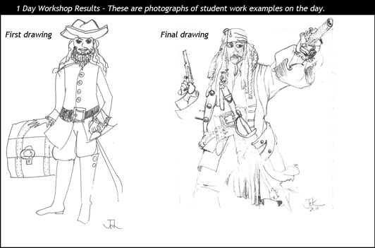 Student Drawing Examples