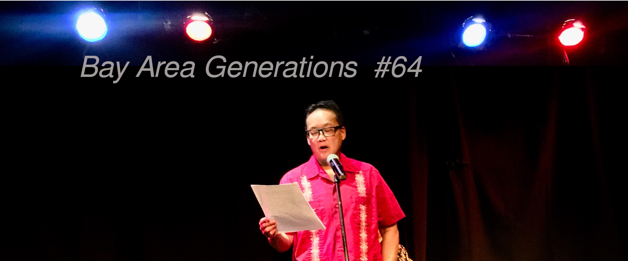 Bay Area Generations Poets and Writers Literary readings and shows