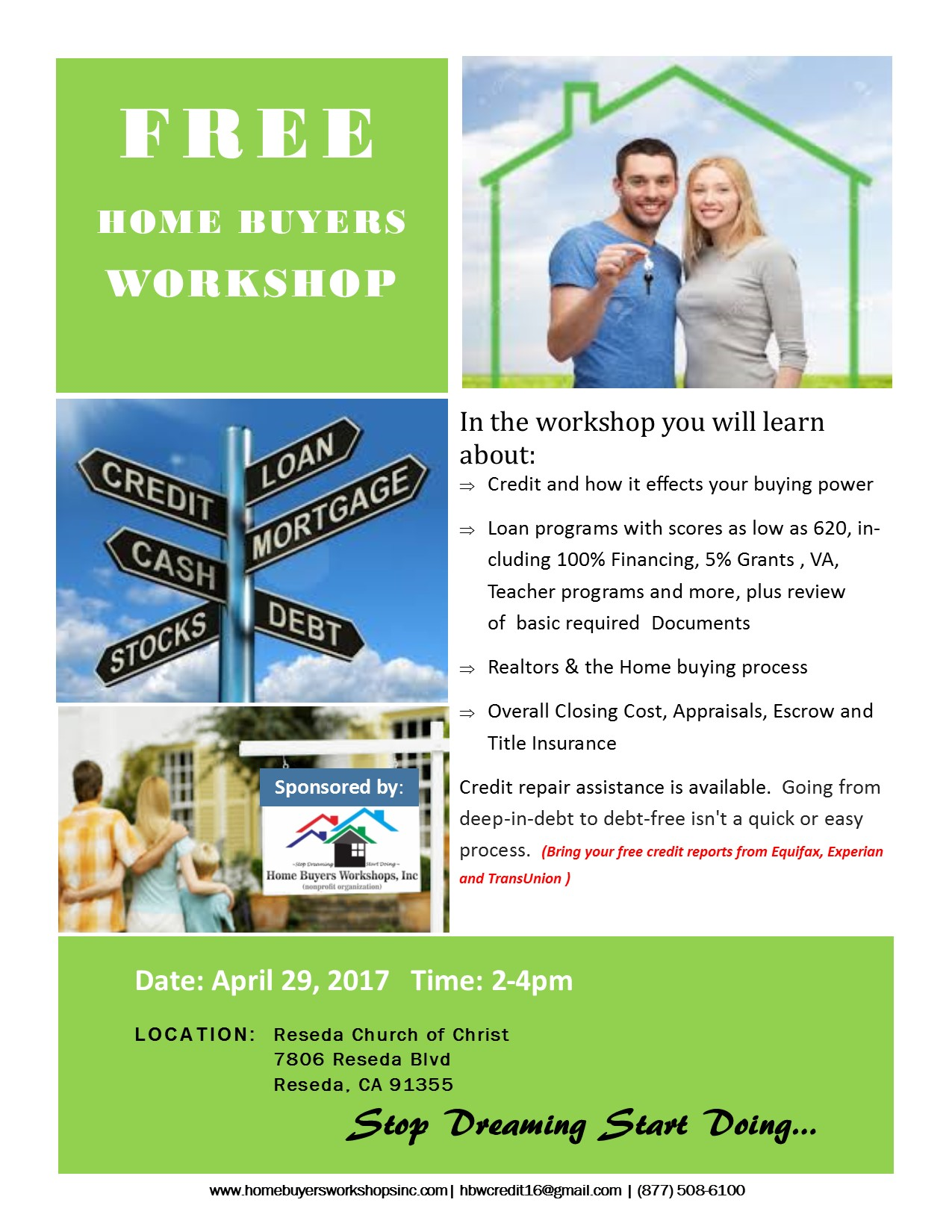 free home buyers workshops tickets sat apr 29 2017 at 2 00 pm eventbrite. Black Bedroom Furniture Sets. Home Design Ideas