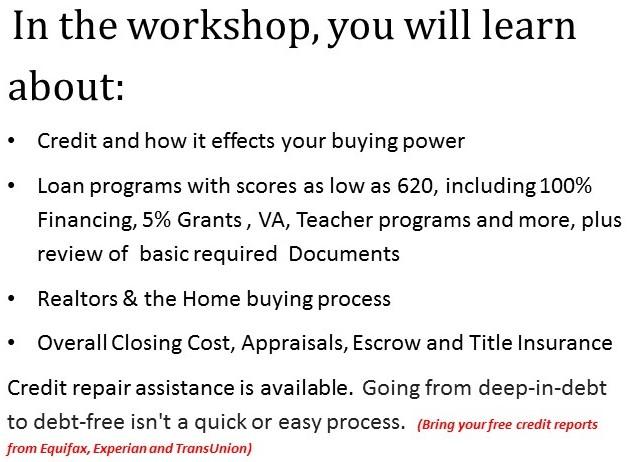 Workshop information