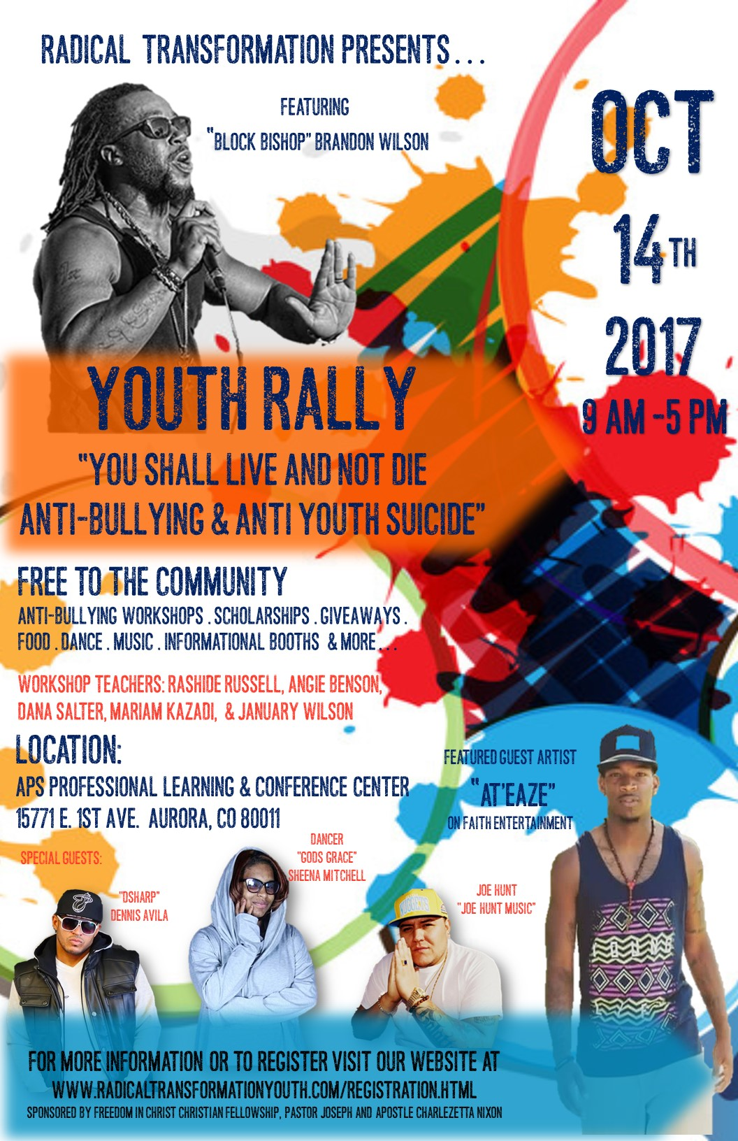 Youth Rally Flyer