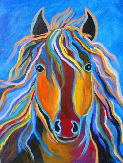 Wild Horse by Debbie Kerr