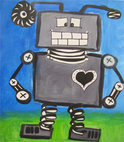BUILD A ROBOT by Gina Harris