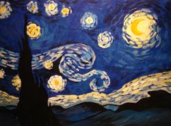 Starry Night by Debbie Kerr