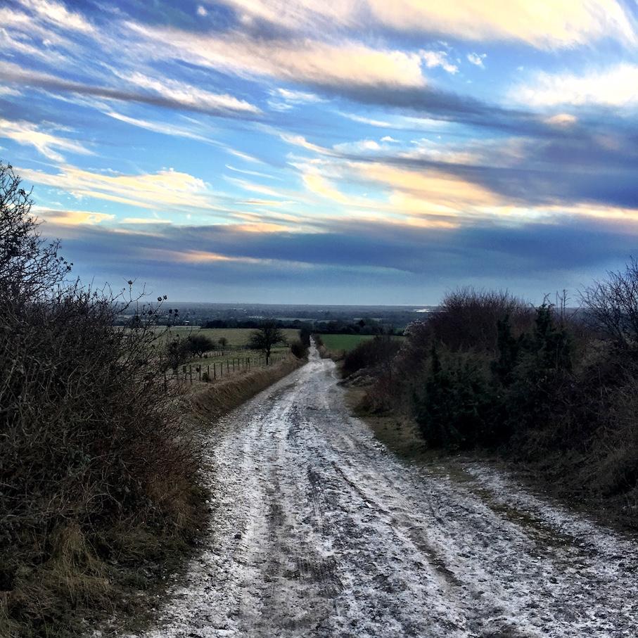 Chalkpit Lane (the home straight)