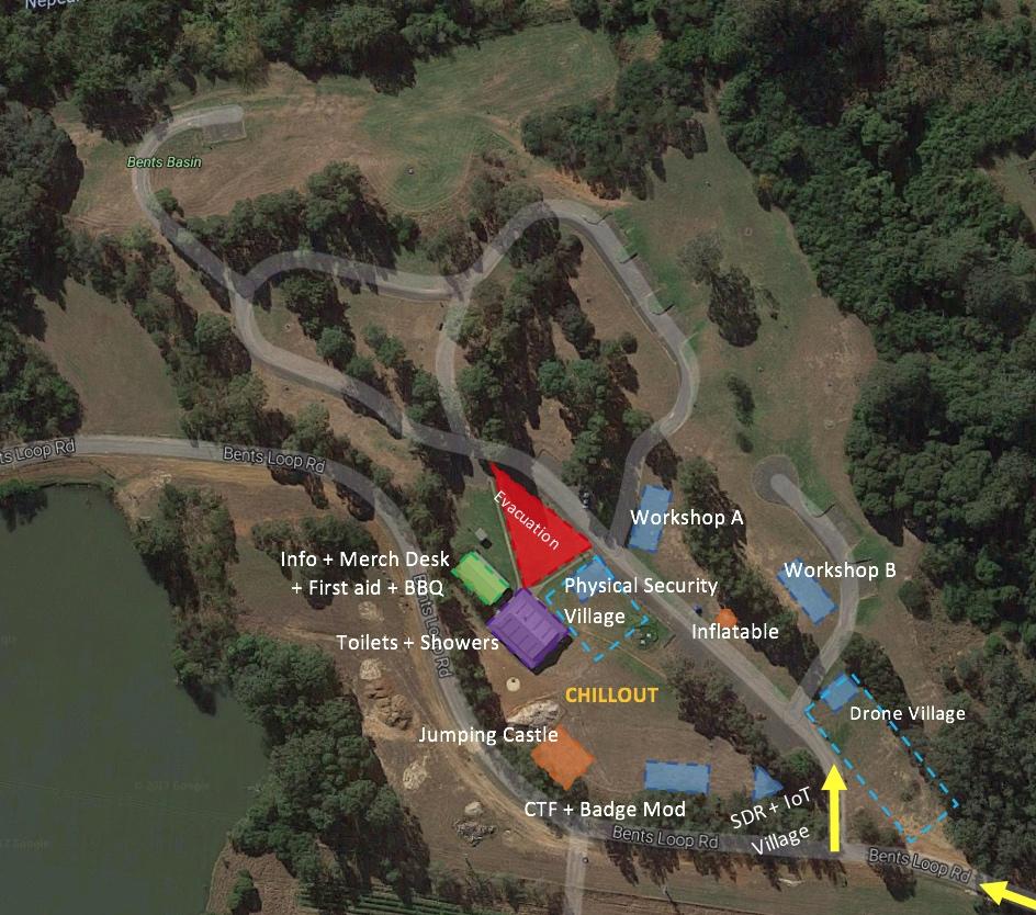 Platypus Campground Workshop Map