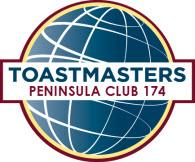 Peninsula Toastmasters Club 174 30th Anniversary!
