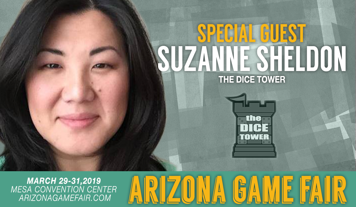 Suzanne Sheldon from the Dice Tower