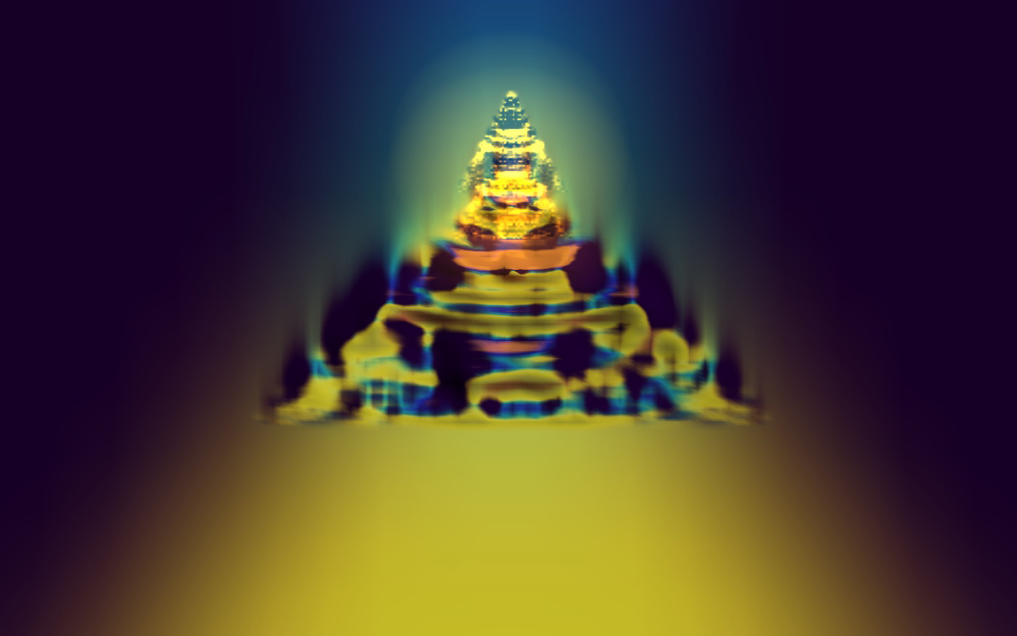 The 108 Harmonic Visions series: Buddha Light 1 © David Hykes 2011 all rights reserved