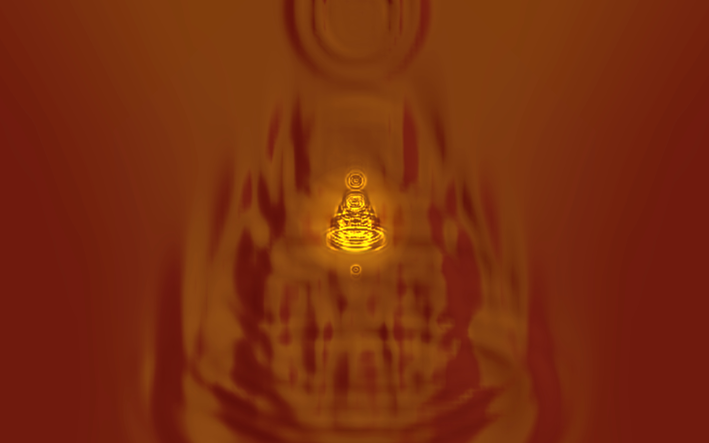 The 108 Harmonic Visions series: Inner Buddha 74 © David Hykes 2011 all rights reserved