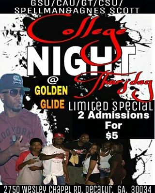 College Night Thursdays @ Golden Glide