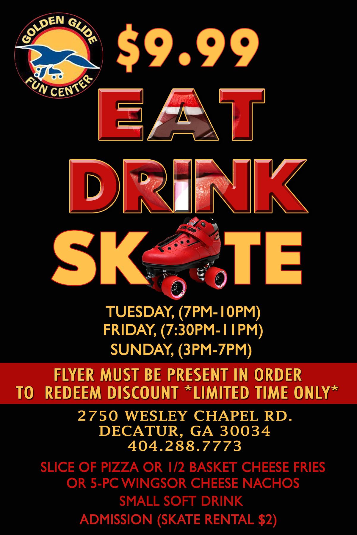 eat drink skate $9.99