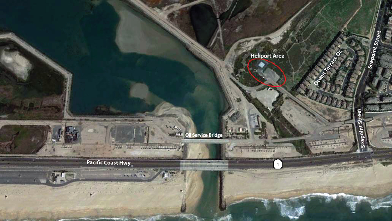 image map to heliport off of PCH and Seapoint St.