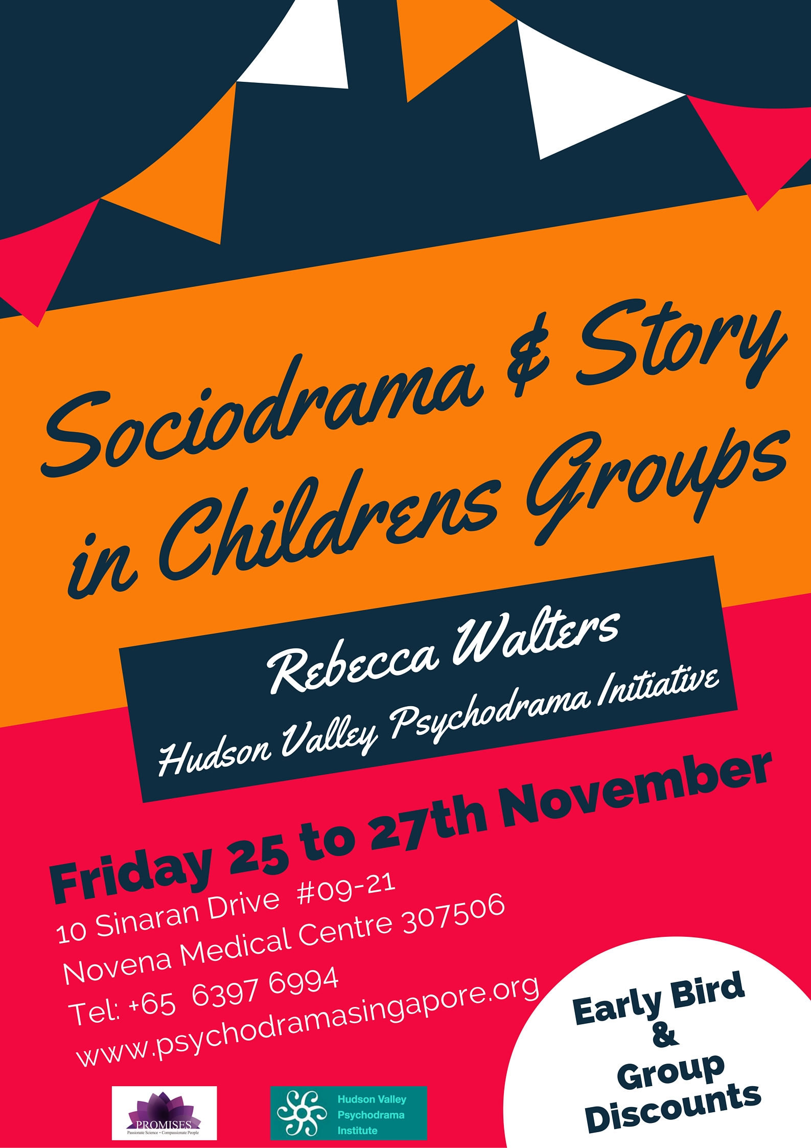 Sociodrama & Story in Childrens Groups - Rebecca Walters - Singapore