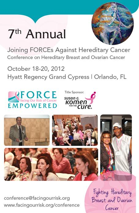 FORCE CONFERENCE Oct. 18-20, 2012