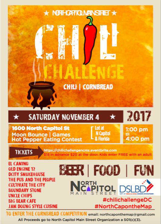 Chili Challenge 2017 Flyer