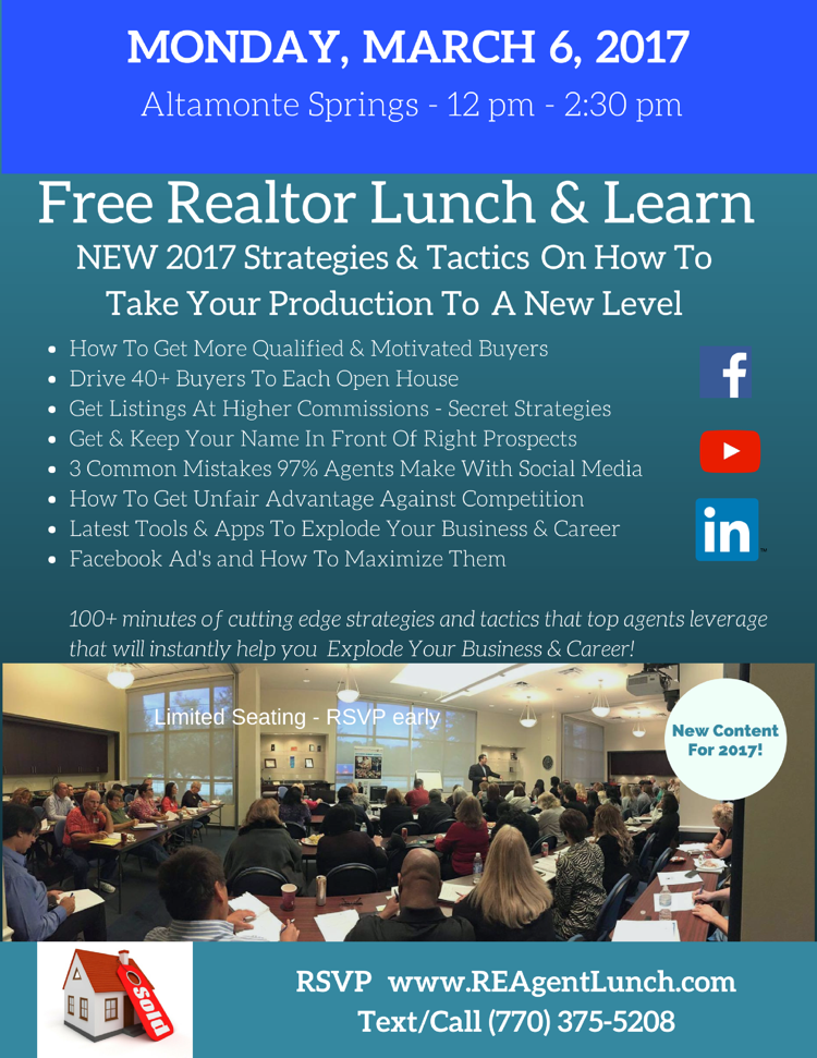 RSVP Lunch and Learn