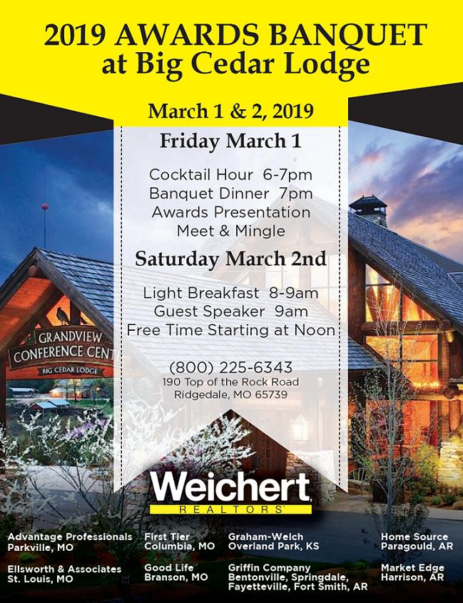 Heartland Broker Council Awards Tickets Fri Mar 1 2019 At 600 PM