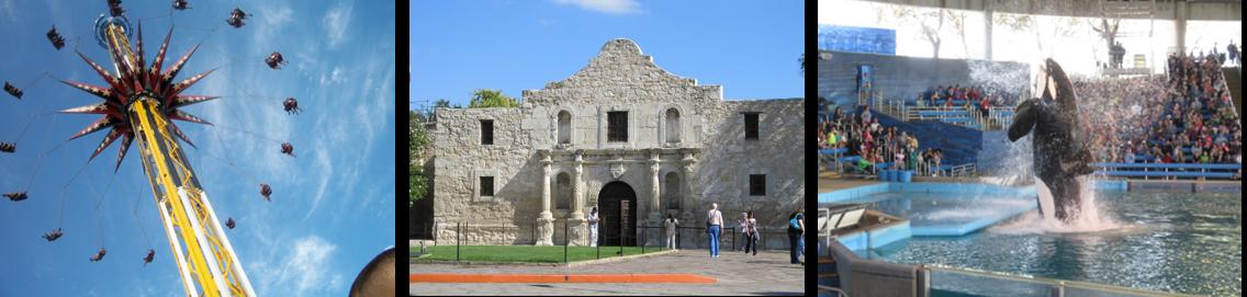 San Antonio Things to Do Photo Strip