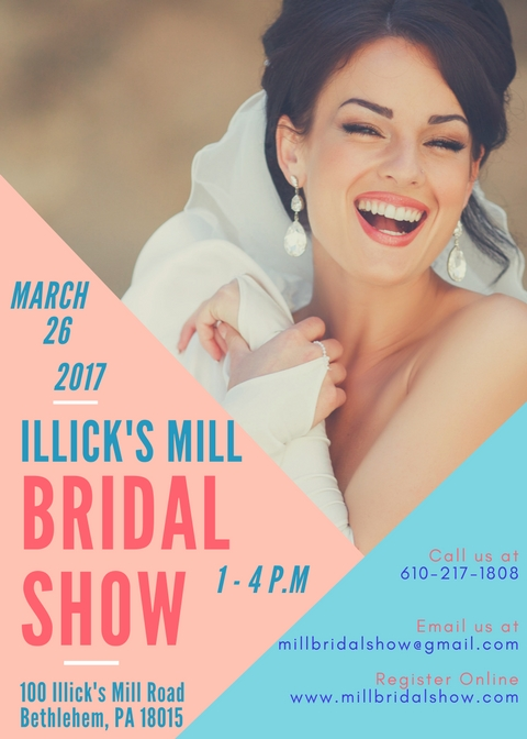 Illick's Mill Bridal Show Lehiigh Valley