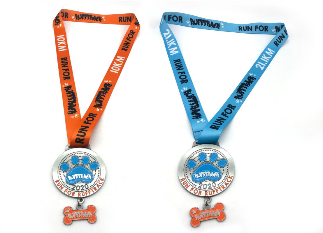 Run for RuffTRACK medals