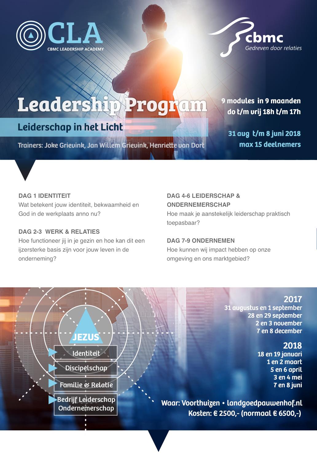Leiderschap in het Licht - CBMC Nederland