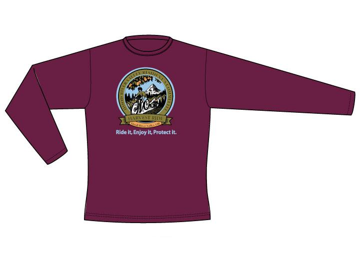 Harvest Ride Long Sleeve Logo Shirt