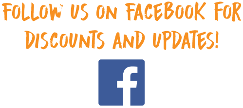 Follow us on Facebook for deals